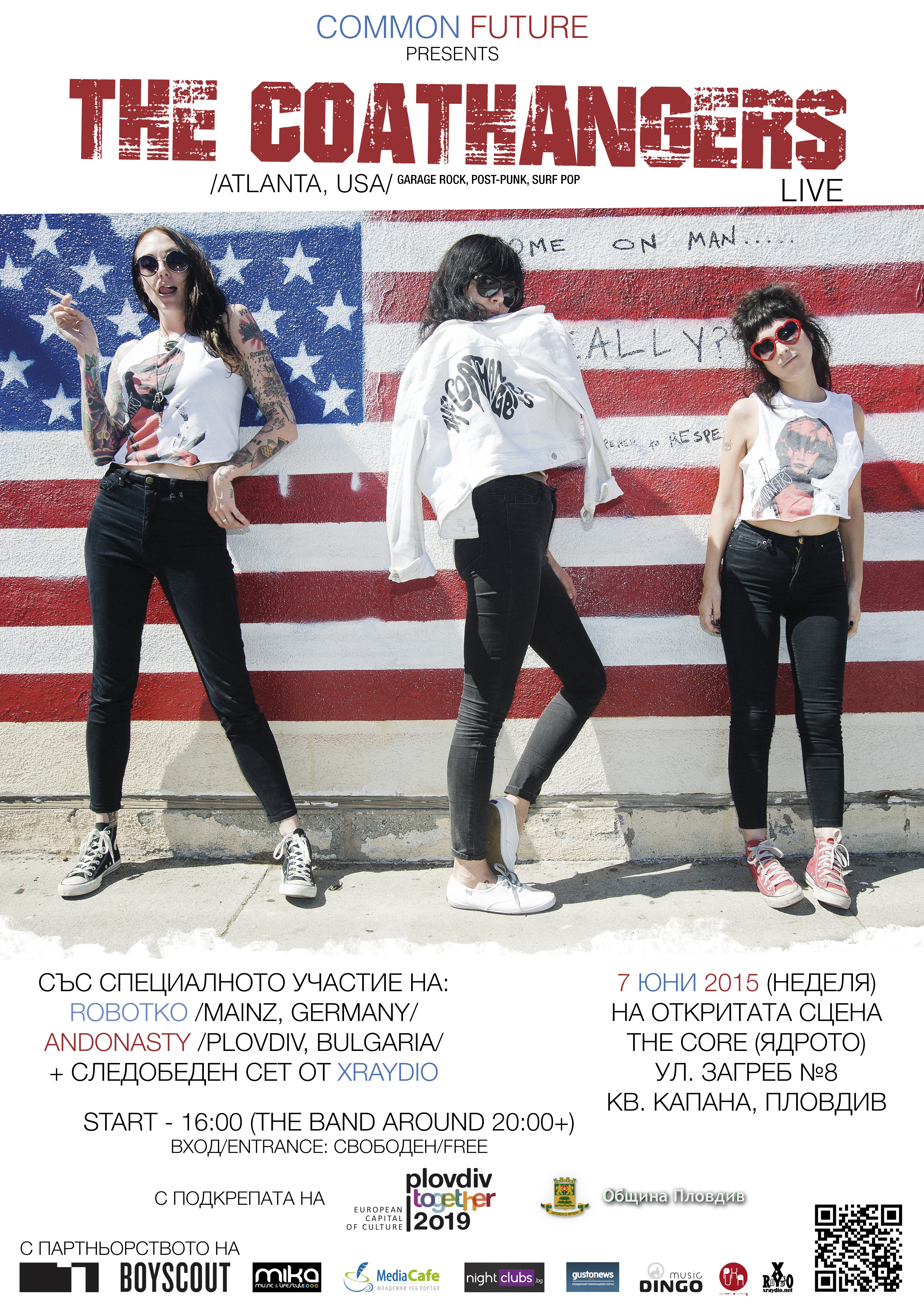 The Coathangers-Poster-Web